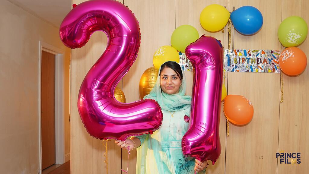 Sonams 21 Birthday