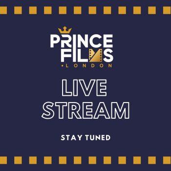 Prince films live stream